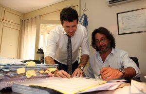 Los fiscales Gonella y Amad investigaron el caso - Foto: Diario Norte