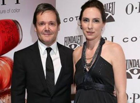 Fernando Farré y Claudia Schaefer.