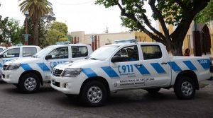 Foto: Prensa ministerio de Seguridad de Mendoza.