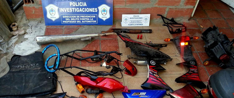 Desbaratarn banda de motochorros en La Matanza (1)