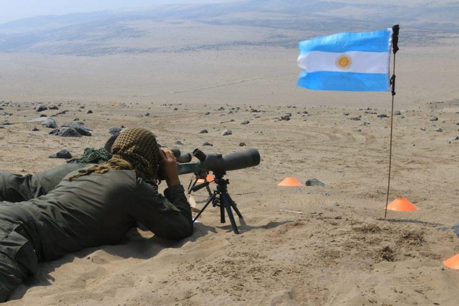 En competencia militar Argentina quedo en 7mo puesto