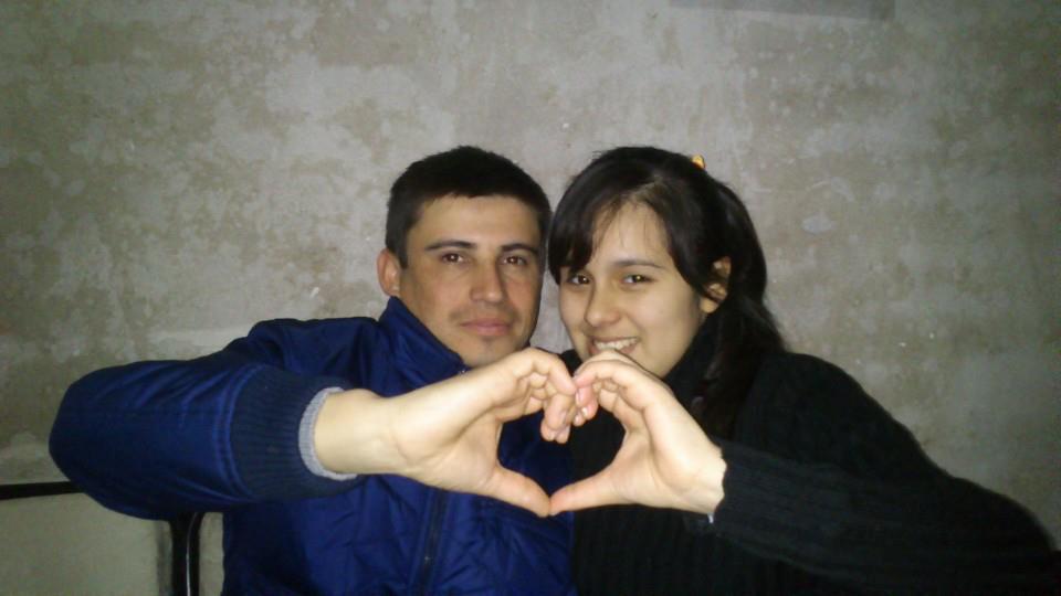 Néstor Quintana y Gabriela Villaroel.