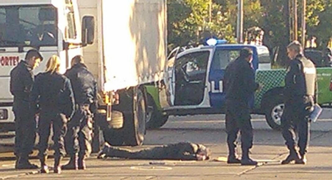 Camionero mató a tiros a ladrón que intentó asaltarlo