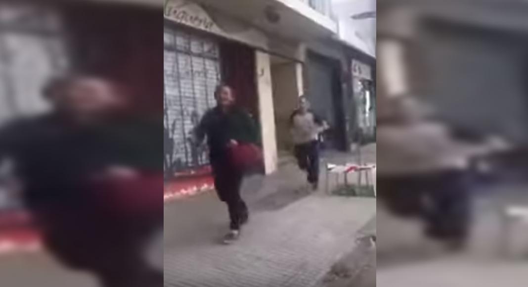 Agresión brutal de un rugbier a persona en situación de calle
