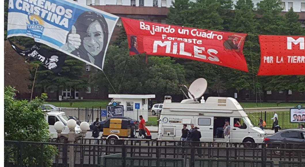 Va Cristina Fernández ante la justicia