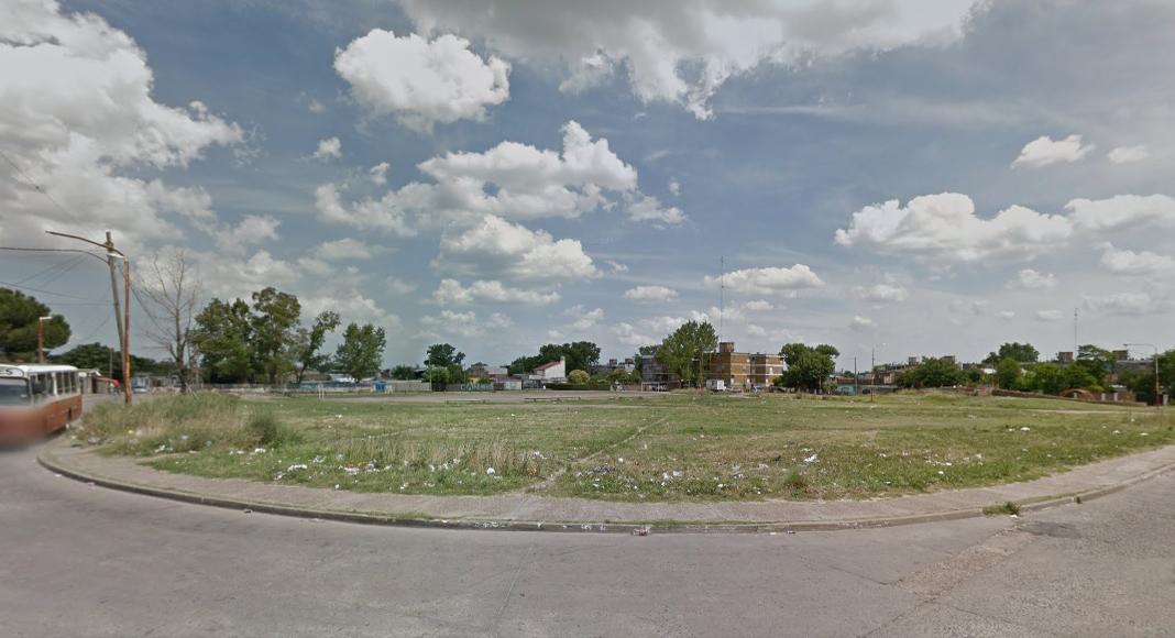 La zona donde fue hallado el cuerpo. (Google Maps)