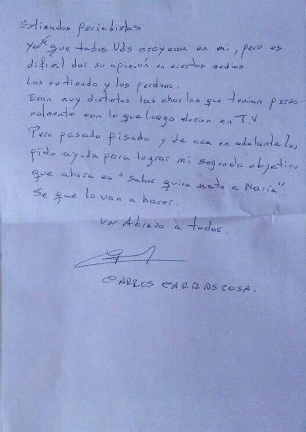 carta Carrascosa