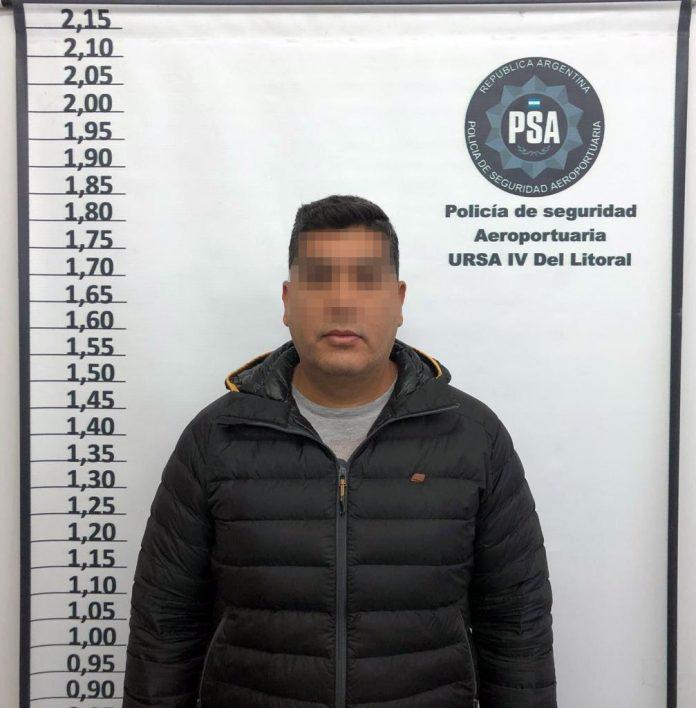 Cristian Acosta, jefe de la división Antinarcóticos